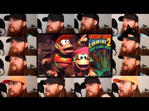 Donkey Kong Country 2 - Stickerbrush Symphony Acapella