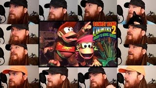 Repeat youtube video Donkey Kong Country 2 - Stickerbrush Symphony Acapella