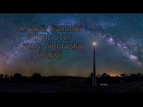 A Clear Summer Night Over Lyons, Nebraska 1966