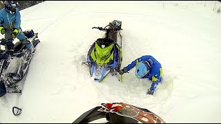 How to break 3 ribs on a snowmobile.