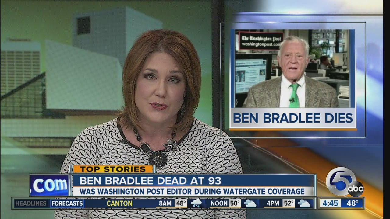 Download Ben Bradlee, editor of The Washington Post who led Watergate scandal coverage, dies at 93
