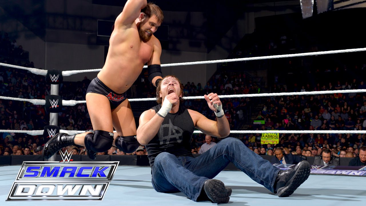 Dean Ambrose vs. Curtis Axel: SmackDown, February 5, 2015