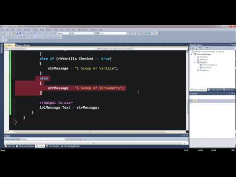 C# Nested Ifs with Radio Buttons