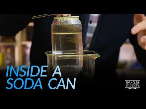 Inside a Soda Can - Hidden Liner