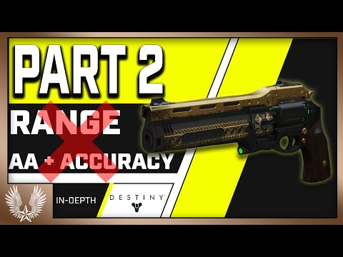 PART 2 : Range MEANS NOTHING On Hand Cannons (Aim Assist And Accuracy Edition)