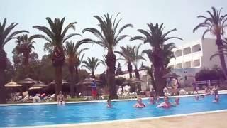 Спортивные развлечения в отеле Palm Beach Club Hammamed 4 Тунис май 2016