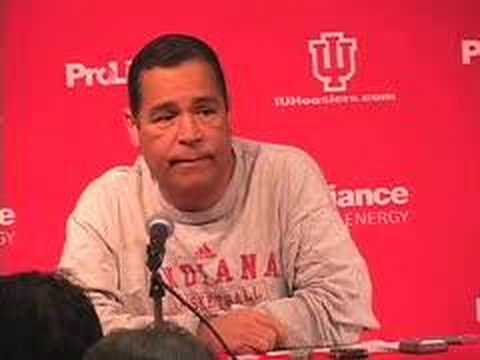 Coach Kelvin Sampson Conference