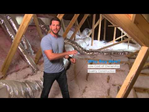 New Home Energy Efficiency with Radiant Barriers