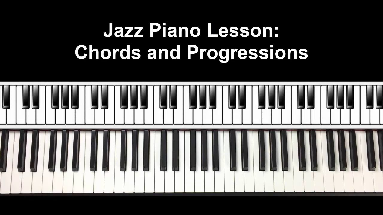 Jazz piano chord lesson youtube jazz piano chord lesson hexwebz Gallery