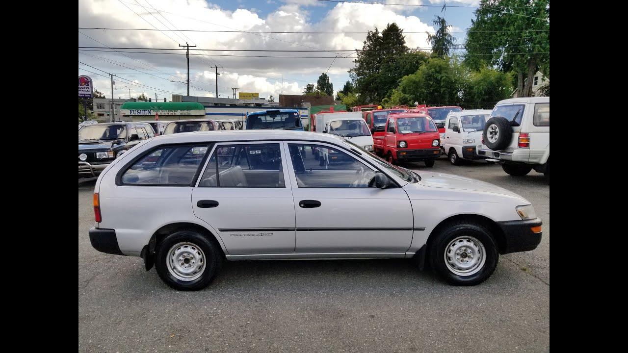 JDM 1992 Toyota Corolla Van 4WD for sale in Seattle, WA