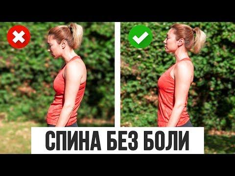 5 простых упражнений для красивой осанки и уменьшения боли в спине