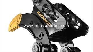 Adjustabucket Machiney Attachments