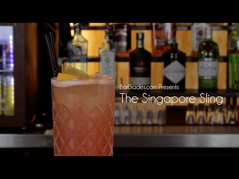 Bar Blades - Cocktail Master Class: How To Make The Singapore Sling
