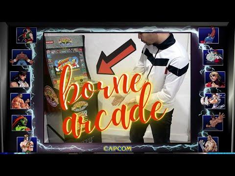 UMBOXING BORNE ARCADE RETRO from Derof Vidéo
