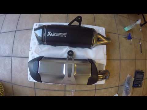 Akrapovic black BMW R 1200 GS LC
