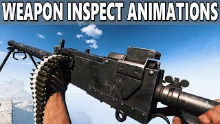 Battlefield V - All Weapon Inspect Animations