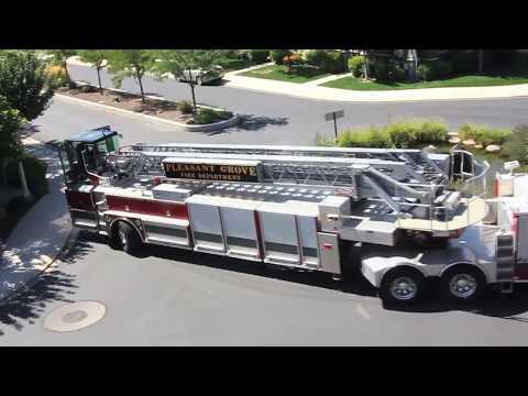 PGFD ladder truck