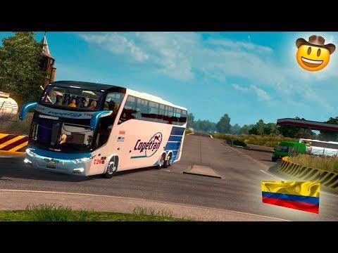 🚌RUMBO A SANTA MARTA!!!!! | MARCOPOLO G7 COOPETRAN | EURO TRUCK SIMULATOR 2 | COLOMBIA