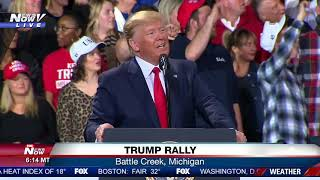 IMPEACHMENT NIGHT RALLY: President Trump in MI same night House passes two articles of impeachment