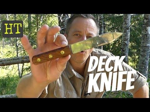 Green River Deck Knife Or Should I Say Deck KNIFEMARE!!!!