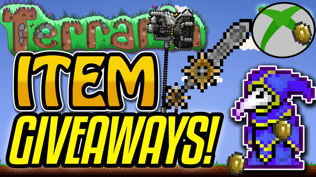 terraria how to get free items xbox