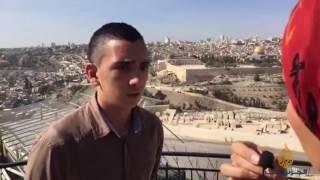 أطفال القدس في يوم الطفل العالمي