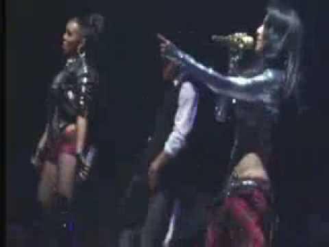 Pussycat Dolls- Love The Way You Love Me @ Aberdeen 1 18 2009