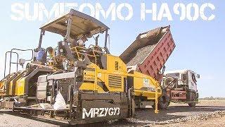 Asphalt Paving Road Construction Work Sumitomo HA90C