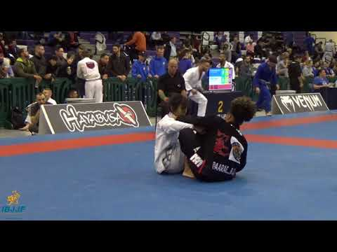 Aarae Alexander vs Kristina Barlaan / New York BJJ Pro 2017