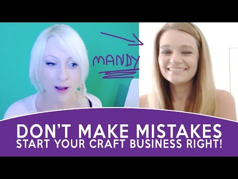 How to start a craft business from home