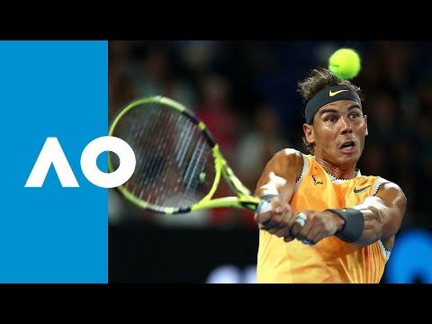 Rafael Nadal v Frances Tiafoe first set highlights (QF) | Australian Open 2019