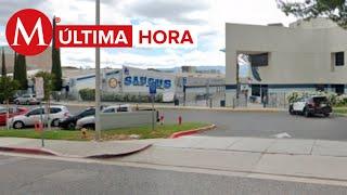 Reportan tiroteo en secundaria de Los Ángeles, California