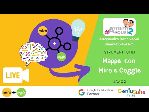 Mappe concettuali e mentali: Miro e Coggle due strumenti indispensabili [Attenti a Quei 2]