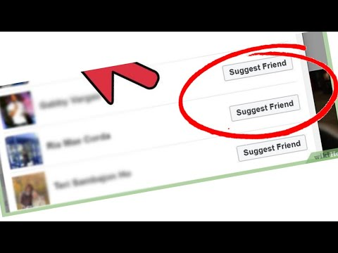 How To Send Friend Suggestion On Facebook