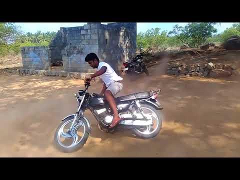 Powerful Yamaha rx 100 bike Adventure