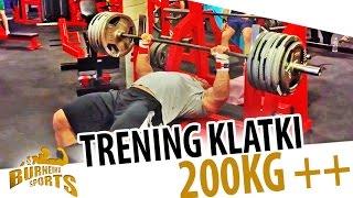 Trening klatki 200kg ++++ 2017 Video