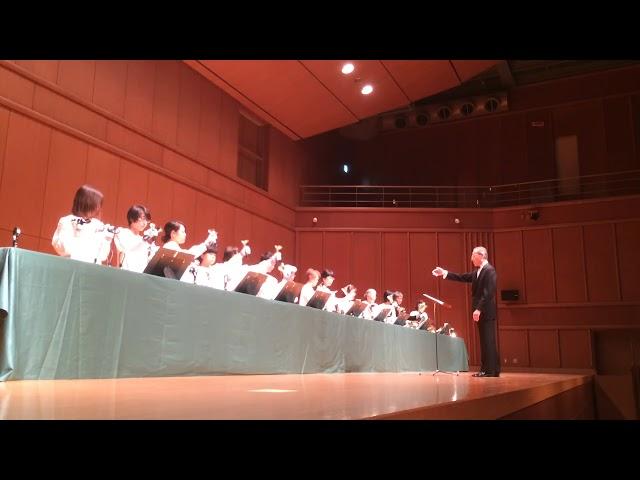 Lo How a Rose E'er Bloomin, Kobe YMCA Bell-choir (Dir. Nozomu Abe) 2018 Dec,  ハンドベル