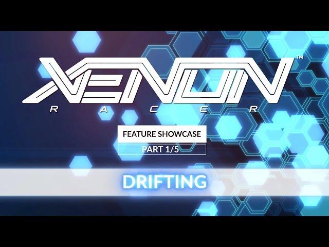Xenon Racer - Feature Showcase 1/5 | Drifting + Boosting