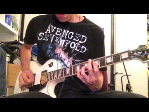 All Time Low- Backseat Serenade (Guitar Cover)