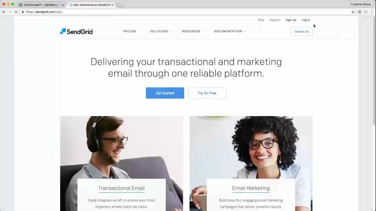 ClickFunnels SendGrid Integration
