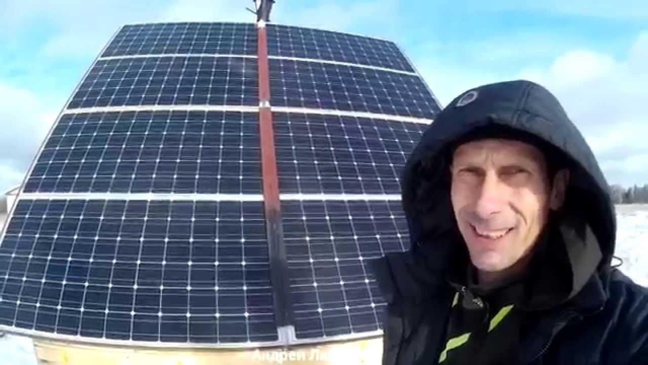 Солнечные Батареи в Сибири. Дом таёжника. Реальная Эффективность солнечных батарей, оборудование.