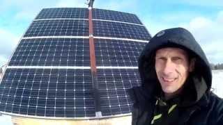 Солнечные Батареи в Сибири. Дом таёжника. Реальная Эффективность солнечных батарей, оборудование.(, 2015-11-20T16:31:06.000Z)