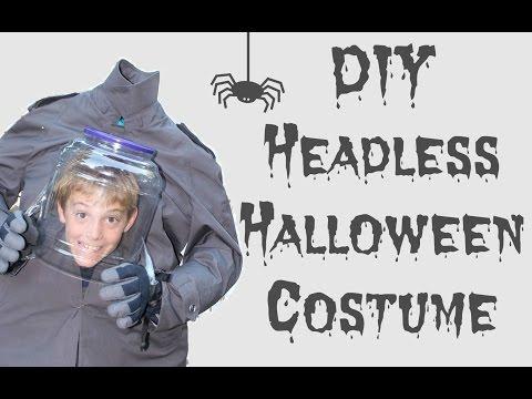 DIY Headless Halloween Costume |2016