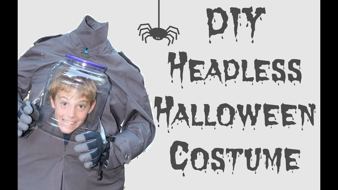 DIY Headless Halloween Costume |2016 - YouTube
