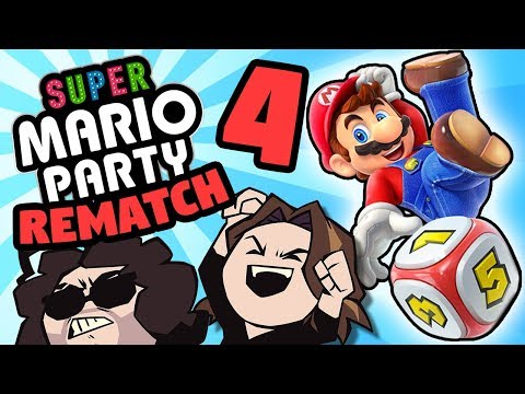 Super Mario Party - The REMATCH: Stars All Around - PART 4 - Game Grumps VS