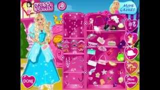 Игры Барби про Золушку одевалки (Barbie Princess )