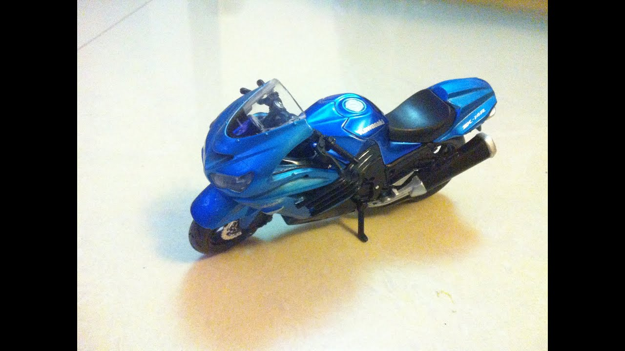 Blue Motorbike Little Motorcycle Toy