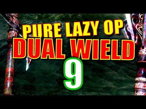 Skyrim Pure Lazy OP Dual Wield Walkthrough Part 9: The Mega Nordic Barnacle Run thumbnail
