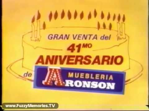 Aronson Furniture   Spanish Version (Commercial #1, 1981)