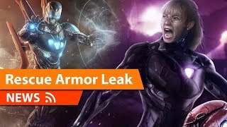Avengers 4 Rescue Armor Leaked & More
